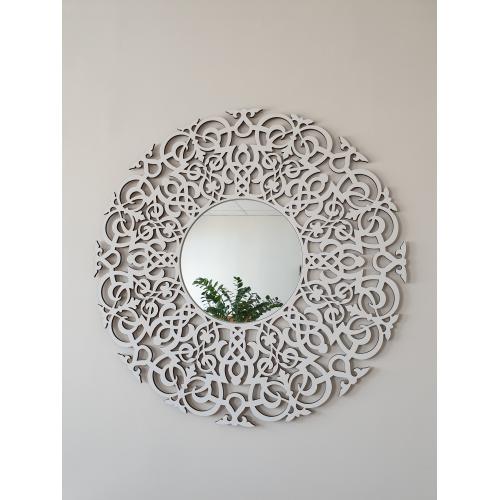 Зеркало в рамке (Белое)
