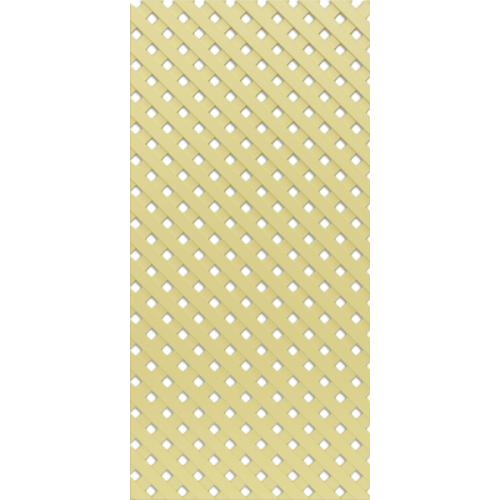 Решётка декоративная Ваниль 620*300 мм