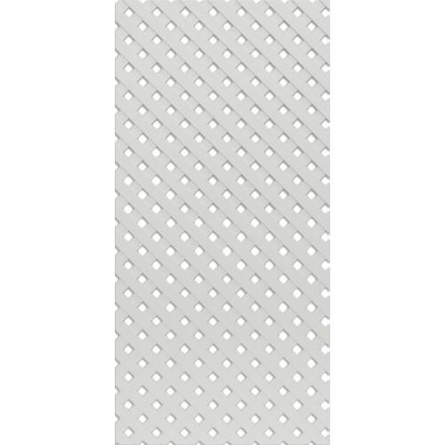 Решётка декоративная Белая 620*300 мм