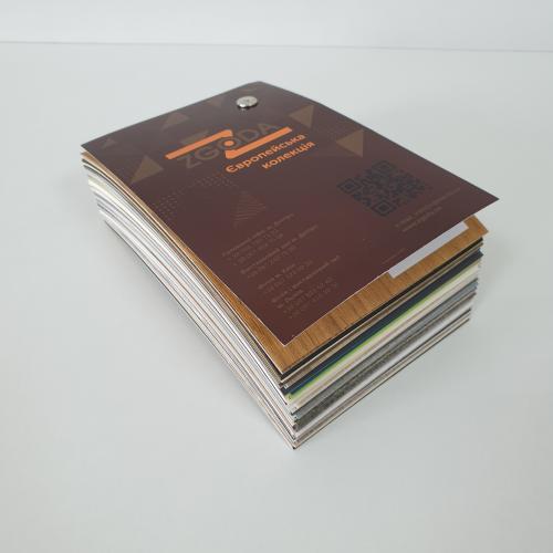 Образцы пленок европейской коллекции (мягкая обложка)